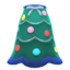 Festive-Tree Dress (Green & Blue) NH Icon.png