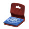 Floor Seat (Dark Wood - Deep Blue) NH Icon.png