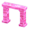 Frozen Arch (Ice Pink) NH Icon.png