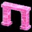 Frozen Arch (Ice Pink)