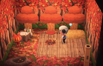 Interior of Croque's house in Animal Crossing: New Horizons