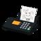 Fax Machine (Black - Illustration) NH Icon.png
