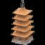 Pagoda (Natural Wood)