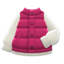 Puffy Vest (Red) NH Icon.png