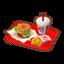 Veggie-Burger Meal