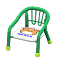 Baby Chair (Green - Bear) NH Icon.png