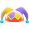 Jester's Cap (Purple & Yellow) NH Icon.png