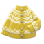 Yodel Cardigan (Mustard) NH Icon.png