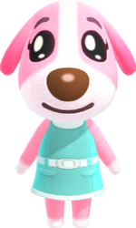 Artwork of Cookie the Dog