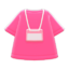 Staff Uniform (Pink) NH Icon.png