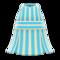 Striped Halter Dress (Light Blue) NH Icon.png