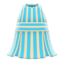 Striped Halter Dress (Light Blue) NH Icon.png