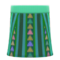 Corte Skirt (Green) NH Icon.png