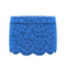 Floral Lace Skirt (Blue) NH Icon.png