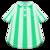 Vertical-Stripes Shirt (Green) NH Icon.png