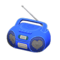 Cute Music Player (Blue) NH Icon.png