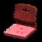 Floor Seat (Dark Wood - Peach) NH Icon.png