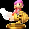 Villager (Alt.) SSB4 Trophy (Wii U).png