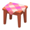 Wooden Mini Table (Cherry Wood - Pink) NH Icon.png