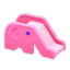 Elephant Slide (Pink)