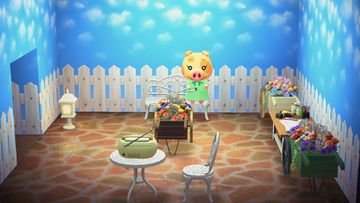 Interior of Maggie's house in Animal Crossing: New Horizons