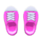 Rubber-Toe Sneakers (Pink) NH Icon.png
