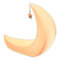 Crescent-Moon Chair (Orange) NH Icon.png