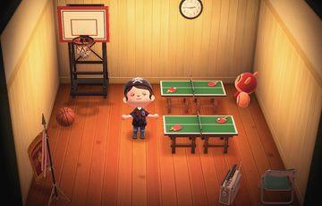 Interior of Hazel's house in Animal Crossing: New Horizons