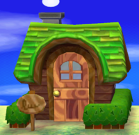 Rex's house exterior