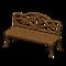 Iron Garden Bench (New Horizons) - Nookipedia, the Animal ...