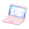 Laptop (Pink - Search Engine) NH Icon.png