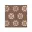 Brown Floral Flooring