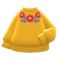 Flower Sweater (Yellow) NH Icon.png