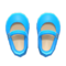 Mary Janes (Light Blue) NH Icon.png