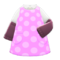 Sleeved Apron (Pink) NH Icon.png
