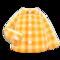 Gingham Picnic Shirt (Orange) NH Icon.png