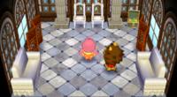 Elvis 's house in Animal Crossing: City Folk