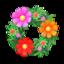 Pretty Cosmos Wreath