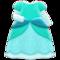 Princess Dress (Mint) NH Icon.png