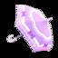 Purple Shiny-Bows Parasol