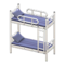 Bunk Bed (White - Striped) NH Icon.png