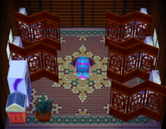 Billy's house interior