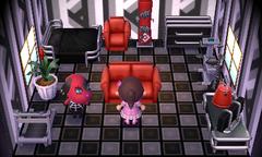 Cherry's house interior
