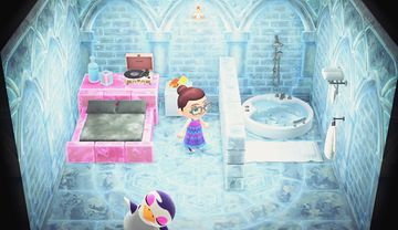 Interior of Gwen's house in Animal Crossing: New Horizons