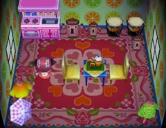 Truffles's house interior