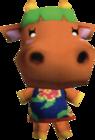 Carrot, an Animal Crossing villager.