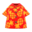Pineapple Aloha Shirt (Red) NH Icon.png