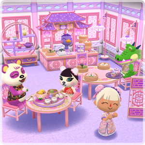 Pretty Pastels Cafe Set Animal Crossing Wiki Nookipedia