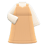 Sweetheart Dress (Beige) NH Icon.png
