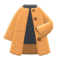 Collarless Coat (Beige) NH Icon.png